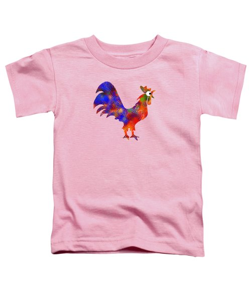 Red Rooster Art Toddler T-Shirt