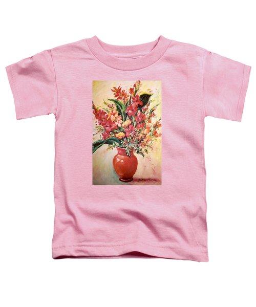 Red Vase Toddler T-Shirt