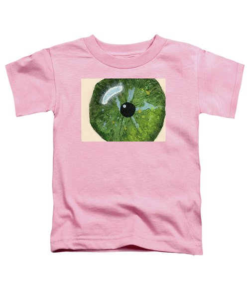Reflected In The Eye Of A Child Never Born Toddler T-Shirt