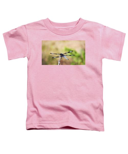 Rest Area, Dragonfly On A Branch Toddler T-Shirt