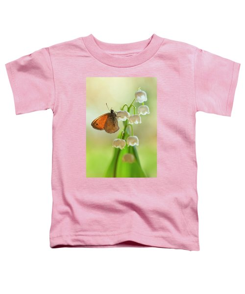 Toddler T-Shirt featuring the photograph Rest In The Morning Sun by Jaroslaw Blaminsky