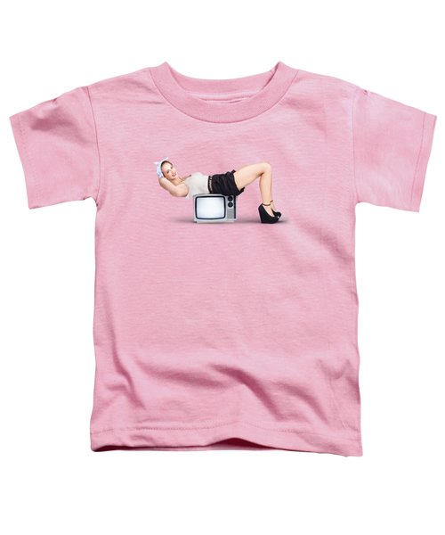 Retro Housewife Toddler T-Shirt