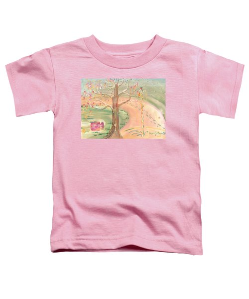 Ripples Of Spring Toddler T-Shirt