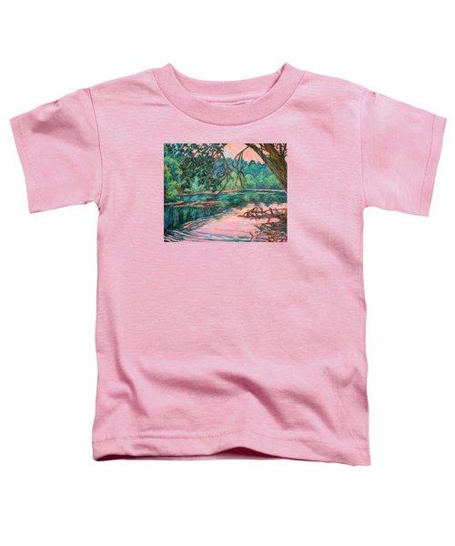 Riverview At Dusk Toddler T-Shirt