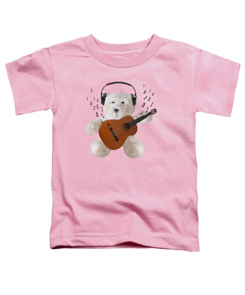 Rockin Teddy Toddler T-Shirt
