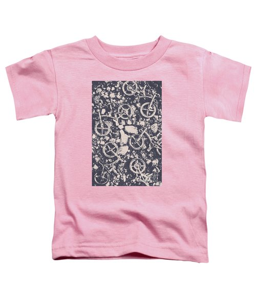 Rocky Mountain Bike Trail Toddler T-Shirt