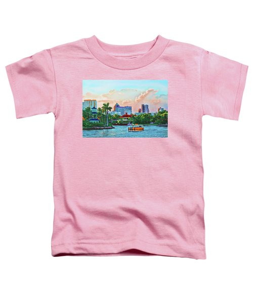 Rolling Down The New River Toddler T-Shirt