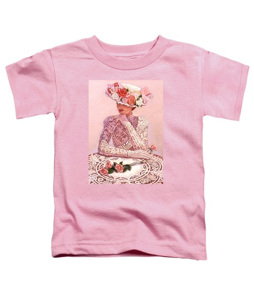 Romantic Lady Toddler T-Shirt