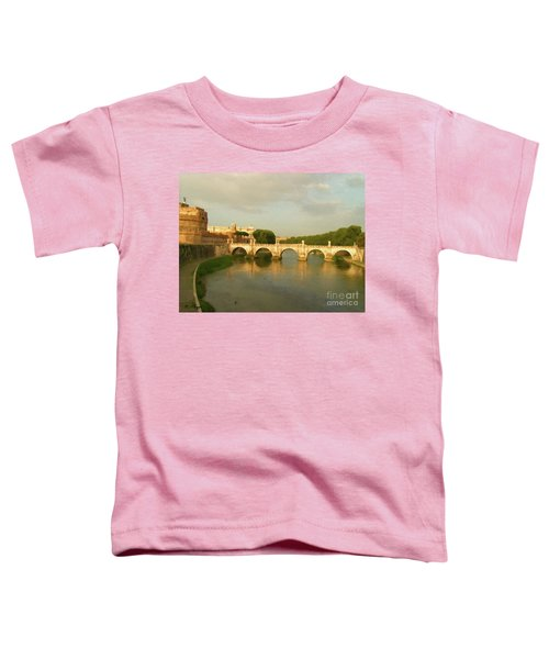 Rome The Eternal City And Tiber River Toddler T-Shirt