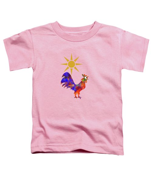 Rooster Pattern Toddler T-Shirt