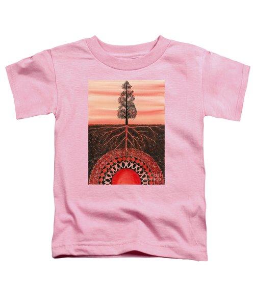 Root Chakra Toddler T-Shirt