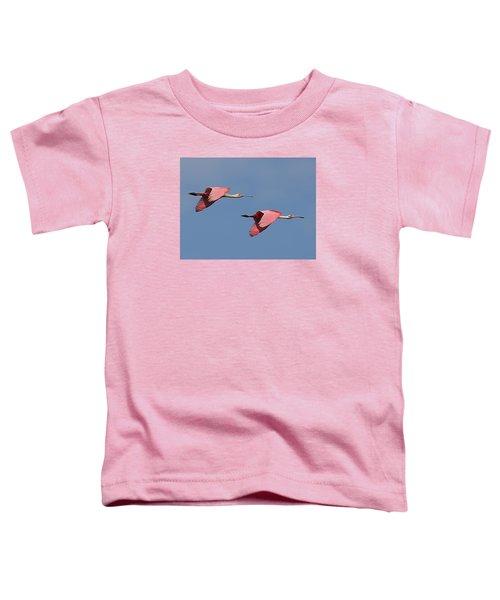 Roseate Spoonbills Toddler T-Shirt