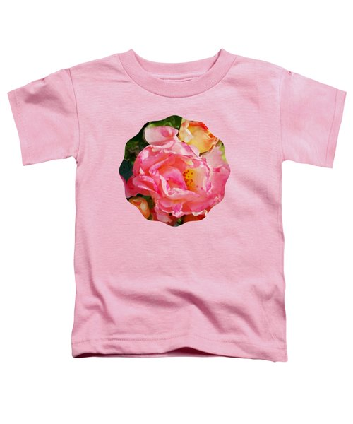 Roses Toddler T-Shirt by Anita Faye