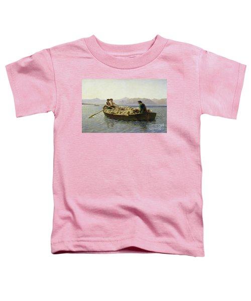 Rowing Boat Toddler T-Shirt