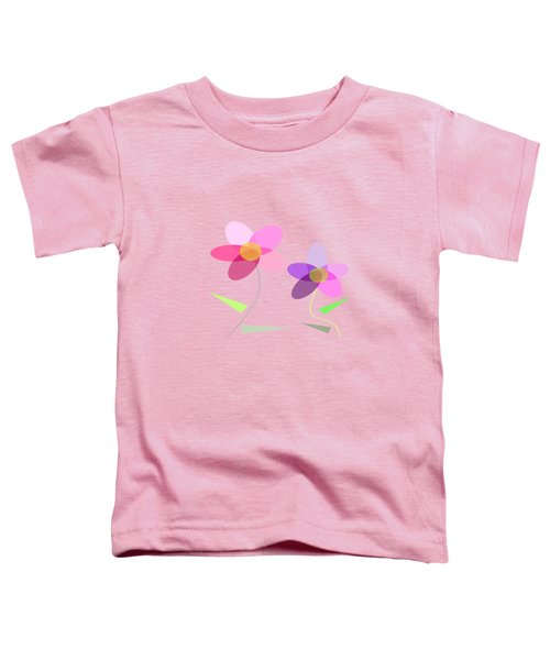 Rows Of Flowers Toddler T-Shirt