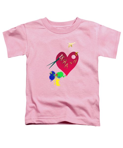 Rubellite By V.kelly Toddler T-Shirt