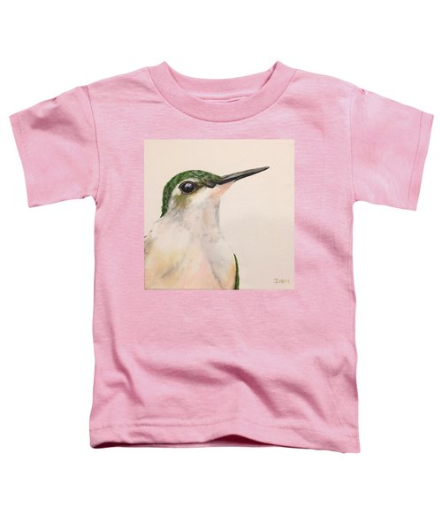 Ruby Throated Hummingbird Toddler T-Shirt
