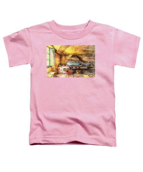 Rural Culinary Atmosphere Nr 2 - Atmosfera Culinaria Rurale IIi Paint Toddler T-Shirt