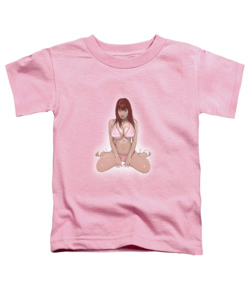 Toddler T-Shirt featuring the mixed media Rusty by TortureLord Art