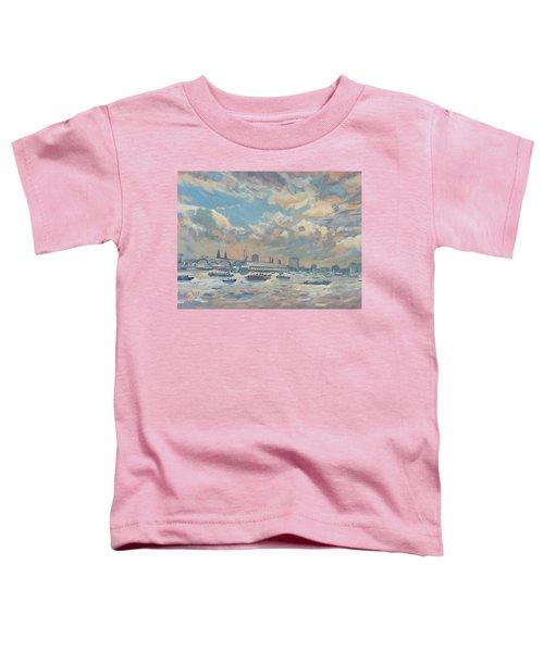 Sail Regatta On The Ij Toddler T-Shirt