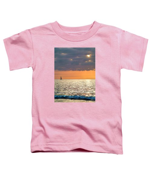 Sailing In The Sun Toddler T-Shirt