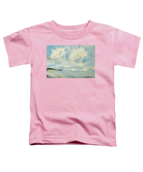 Sailing Into A Calm Anchorage Toddler T-Shirt