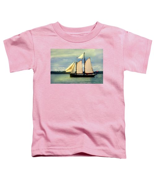 Sailing The Sunny Sea Toddler T-Shirt