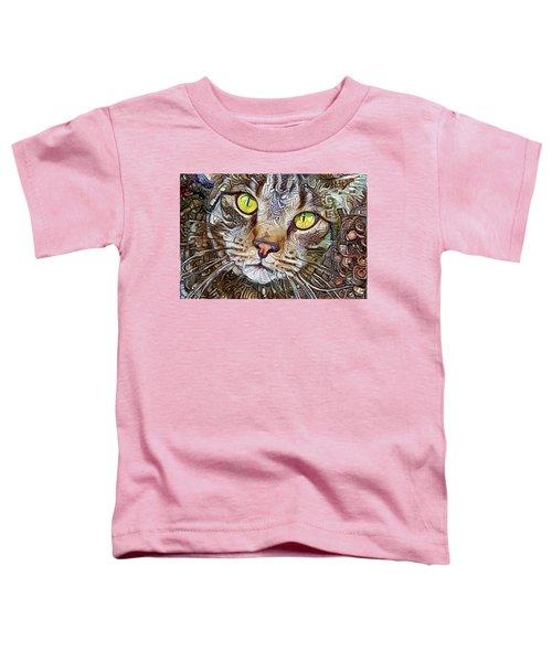 Sam The Tabby Cat Toddler T-Shirt