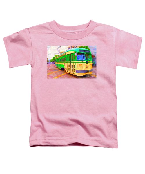 San Francisco F-line Trolley Toddler T-Shirt