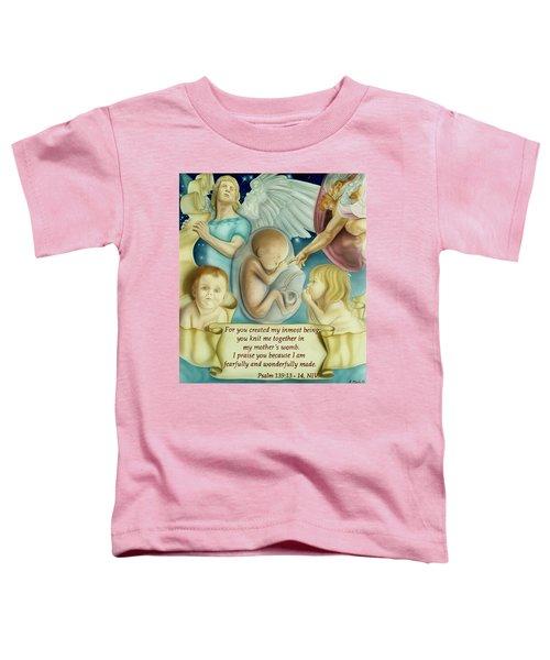Sanctity Of Life Toddler T-Shirt