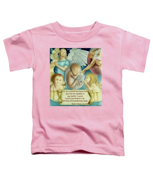 Sanctity Of Life Toddler T-Shirt