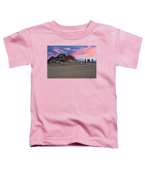 Sand Dunes Of Kitty Hawk Toddler T-Shirt
