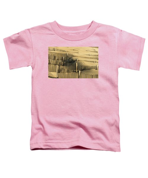 Toddler T-Shirt featuring the photograph Sand Dunes Of The Outer Banks by Donald Brown
