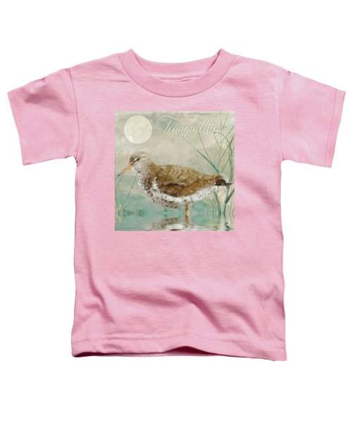 Sandpiper II Toddler T-Shirt by Mindy Sommers
