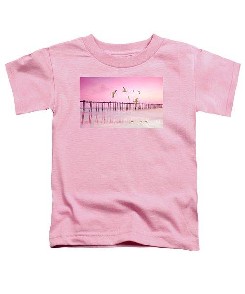 Sandpiper Sunset Toddler T-Shirt