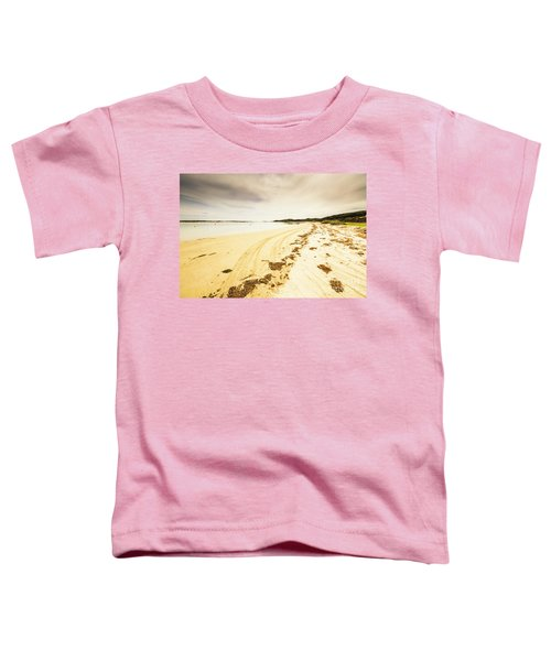 Sandy Tasmanian Shores Toddler T-Shirt