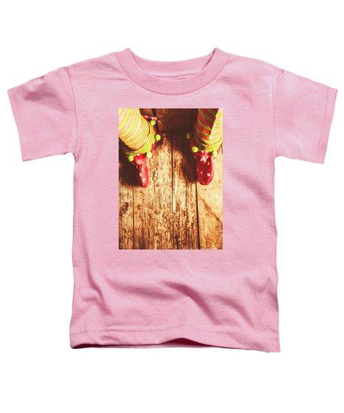 Santas Little Helper Toddler T-Shirt