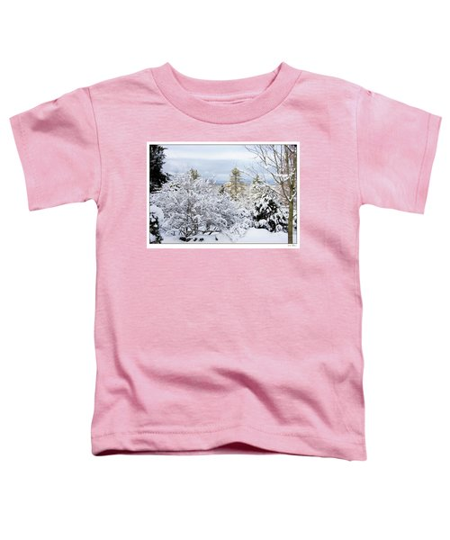 Saratoga Winter Scene Toddler T-Shirt