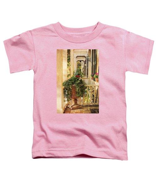 Savannah Porch Toddler T-Shirt