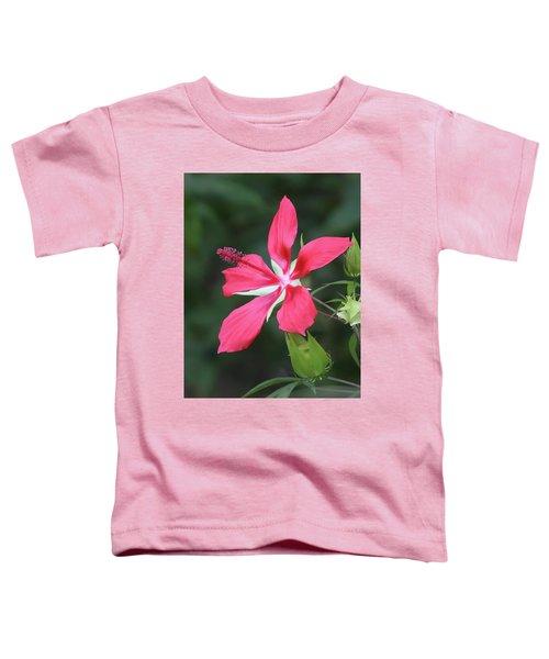 Scarlet Hibiscus #4 Toddler T-Shirt
