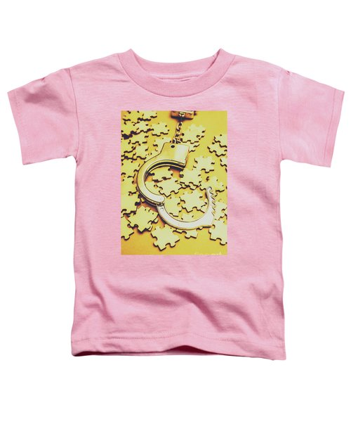 Scattered Clues In A Unsolved Investigation  Toddler T-Shirt