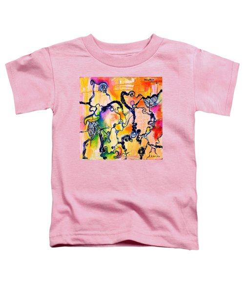Schlieren Chiarascuro Toddler T-Shirt