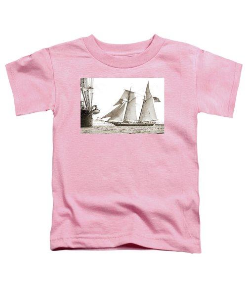 Schooner Lynx Full Sail Toddler T-Shirt