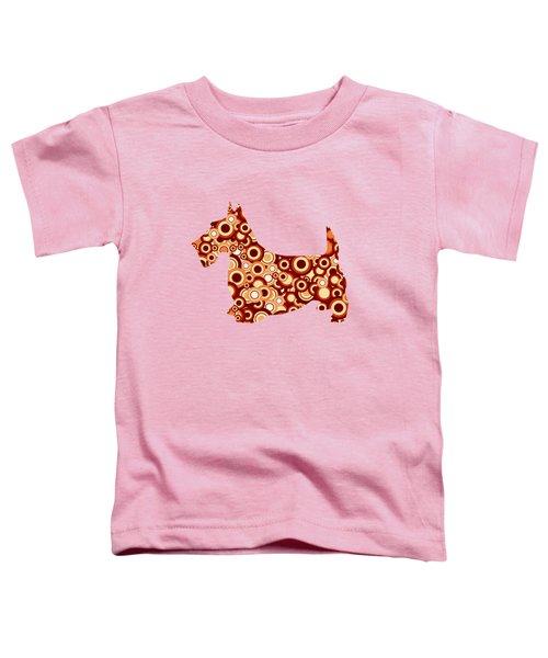 Scottish Terrier - Animal Art Toddler T-Shirt