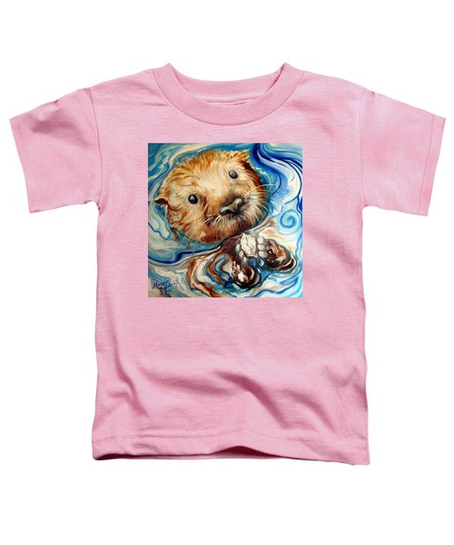 Sea Otter Swim Toddler T-Shirt