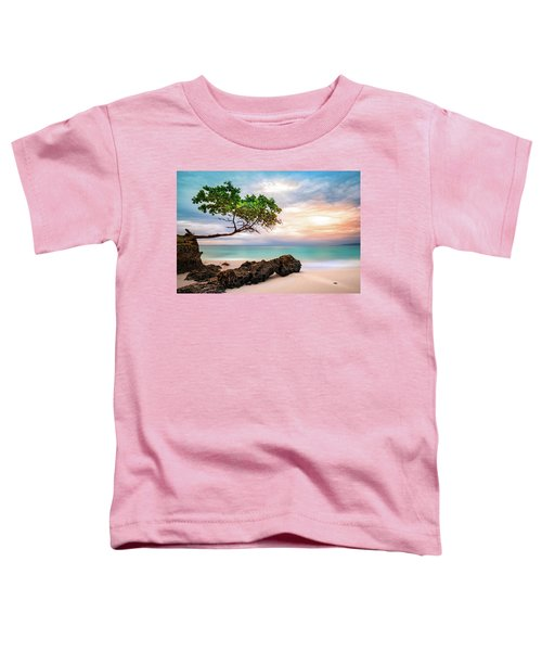 Seagrape Tree Toddler T-Shirt