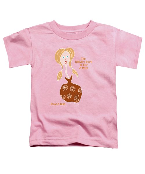 See What Pops Up Toddler T-Shirt by Frank Tschakert