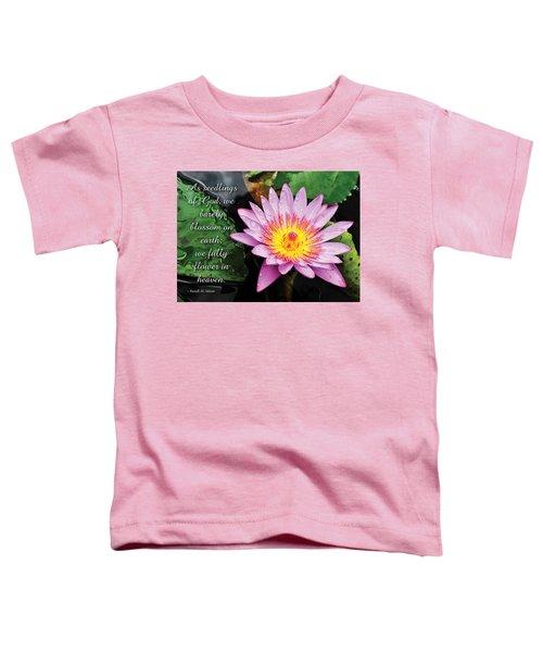 Seedlings Of God Toddler T-Shirt