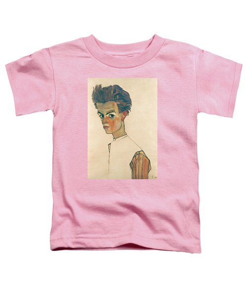 Self-portrait With Striped Shirt Toddler T-Shirt