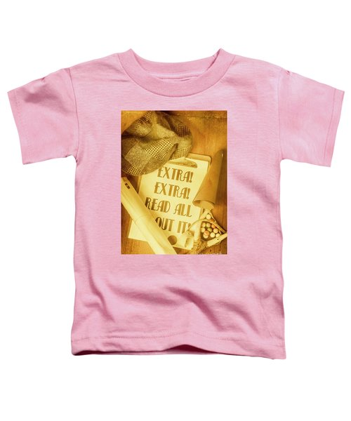 Selling The News Toddler T-Shirt